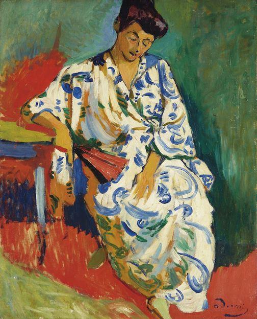 Andre Derain, Madame Matisse au Kimono, 1905