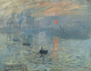 Claude Monet, Impression Sunrise,1872