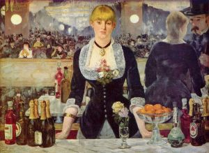 Edouard Manet A Bar at the Folies-Bergère (Un Bar aux Folies-Bergère), 1882