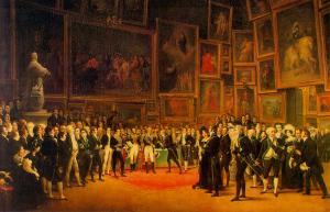 The Paris Salon 1800s