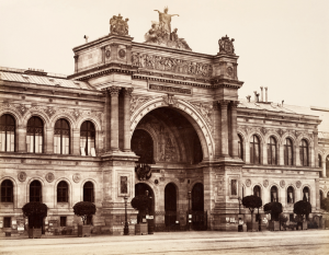 The Palais de l'Industrie, where the Salon des Refusés  took place