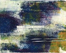 Dawn Wilson monoprint