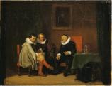 Ernest Meissonier Flemish Burghers 1833-4