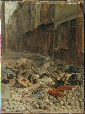 Ernest Meissonier The Barricade, Rue del la Moerellerie, June 1848