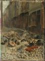 Ernest Meissonier The Barricade, Rue del la Moerellerie, June 1848