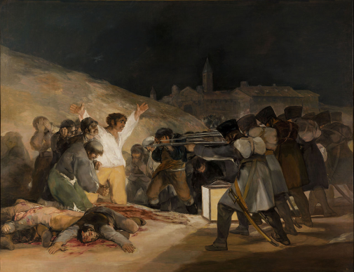 Francisco Goya, The Third of May 1808, 1814
