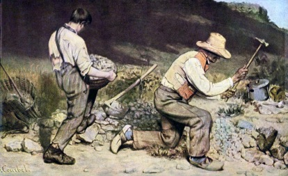 Gustave Courbet, The Stone Breakers, 1849