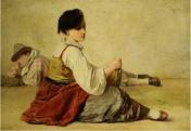Jean Louis Ernest Meissonier Strolling Players (date unknown)