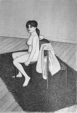John Brack Nude Seated