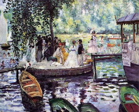 August Renoir, La Grenouillère, 1869