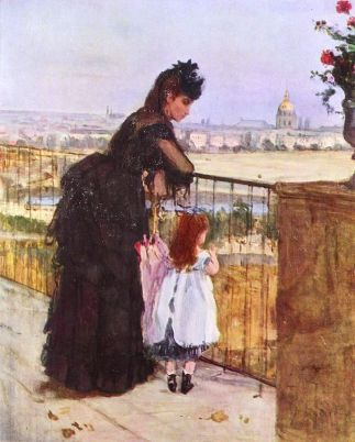 Berthe Morisot On the Balcony 1872