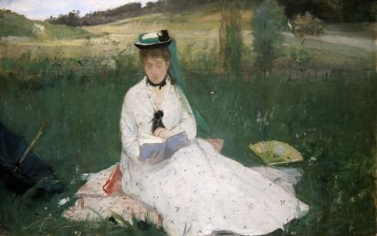 Berthe Morisot Reading 1873