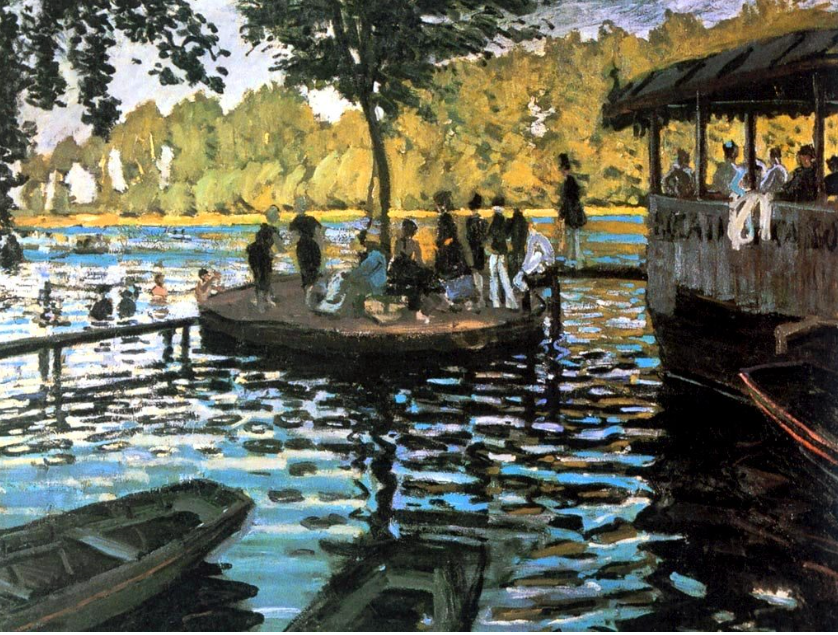 Impressionism – Monet and Renoir, La Grenouillére (The ...