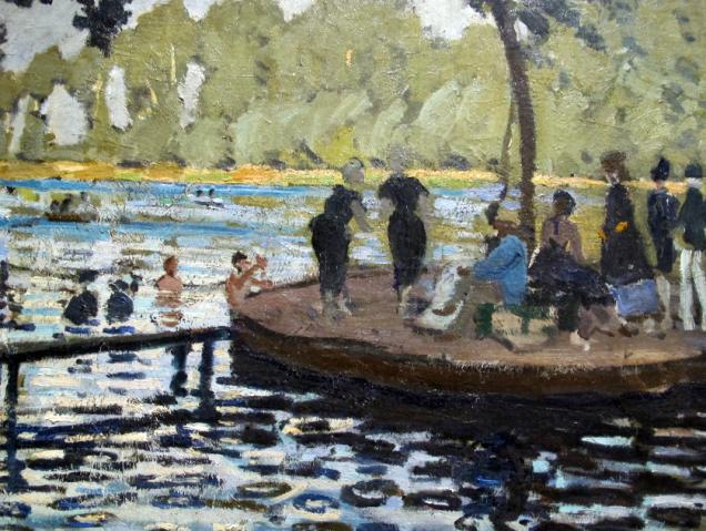 Claude Monet, la Grenouillère, 1869