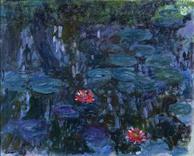 Claude Monet Nymphéas reflets de saule (1916–19)