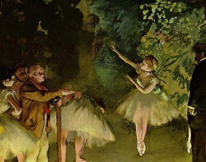 Edgar Degas, Ballettprobe, 1875