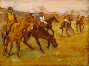 Edgar Degas, Before the Race