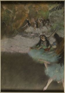 Edgar Degas, On the Stage, 1876-1877