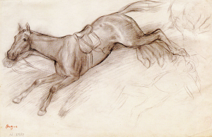 Edgar Degas, The Bolting Horse