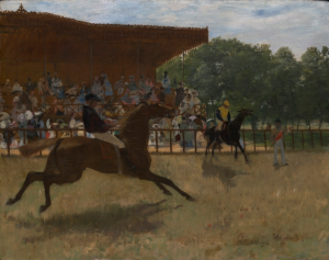 Edgar Degas, The False Start