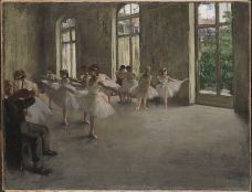 Edgar Degas, The Rehearsal, c. 1873-1878