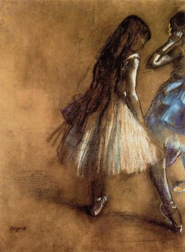 Edgar Degas, Two Dancers, c. 1878-1880