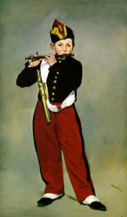 Edouard Manet Young Flautist, or The Fifer, 1866