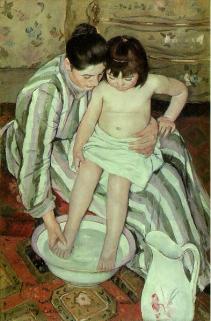 Mary Cassatt, The Bath, 1891-2