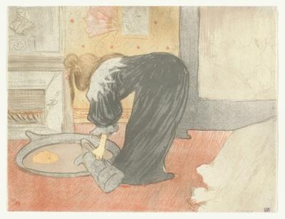 Toulouse Lautrec, Woman at the Tub (Femme au tub), 1893