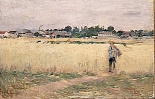 Berthe Morisot, In the Wheat Field, c1875
