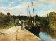 Berthe Morisot, Rosbras, Brittany, 1866-67