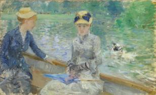 Berthe Morisot, The Cradle, 1872