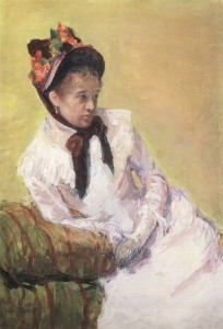 Mary Cassatt, Self Portrait, 1878