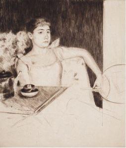 Mary Cassatt, Tea, 1890