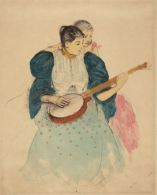 Mary Cassatt, The Banjo Lesson, c1893