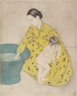 Mary Cassatt, The Bath, 1890-91