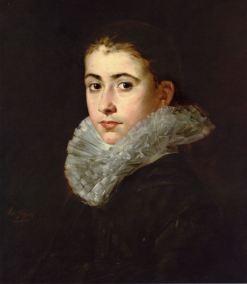Eva Gonzalés, Portrait of a Young Woman, c1870