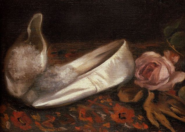 Eva Gonzalés, White Shoes, 1879-80