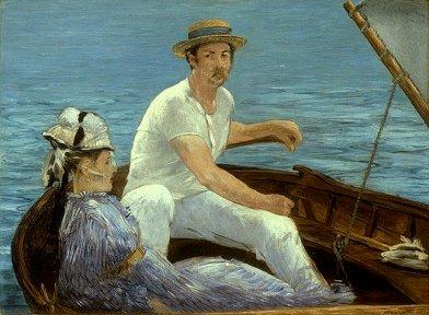 Édouard Manet, Boating , 1874