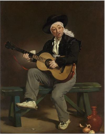 Édouard Manet, The Spanish Singer, 1860