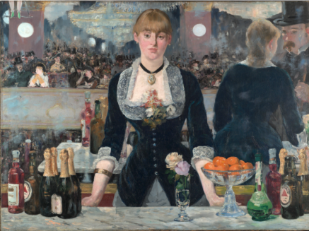 Edouard Manet, A Bar at the Folies-Bergère, 1882