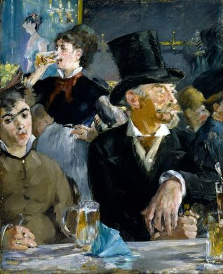 Edouard Manet, At the Café, 1878
