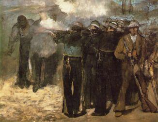 Edouard Manet, The Execution of Emperor Maximilian, 1867
