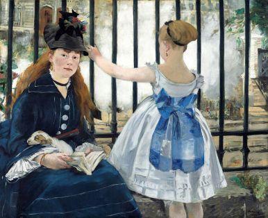 Edouard Manet, The Railway, 1872