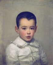 Marie Bracquemond, Pierre Bracquemong as a Child, 1878