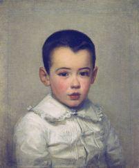 Marie Bracquemond, Pierre Bracquemong as a Child, 1878