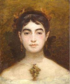 Marie Bracquemond, Self Portrait, 1870