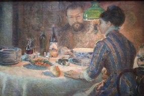 Marie Bracquemond, Under the Lamp, 1887