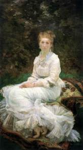 Marie Bracquemond, Woman in White, 1880