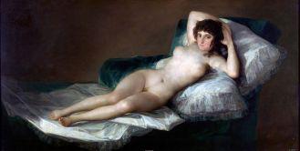 Goya, The Nude Maja, 1797-1800